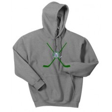 Ice Dogs Hoodie with  Stick Applique Logo